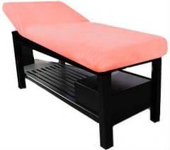 Cover on a couch or a massage table, a terry cover