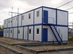 Modular building containers