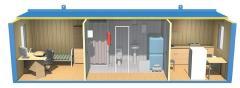 Buildings mobile bathrooms