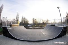 Skatepark. More than 200 various elements of a