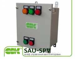 Automatic equipment case for ventilation of SAU-SPV-13,00-19,00