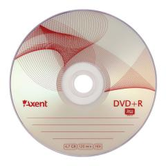 Compact disk of DVD+R 4,7GB/120min 16X,10 of