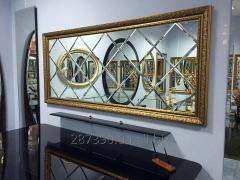 Mirror in a baguette (a panel a mirror tile)