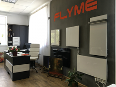 Energy saving heating FLYME for commercial real