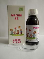 B 6 magnesium syrup