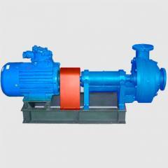 Unit electric pump centrifugal slurry NShB-160-32