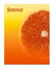 Папка А4 на 30 файлов LEO 5103 Грейпфрут
