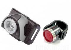Фонарик Led Lenser B5R Grey + B2R Red