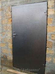 Двери металлические входные, двери металлические с