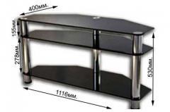 Стеклянная тумба под телевизор 42 дюйма модель