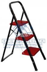Стремянка металлическая бытовая INTERTOOL 300х200мм 3 ступени (LT-0043)
