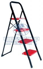 Стремянка металлическая бытовая INTERTOOL 300х200мм 4 ступени (LT-0044)