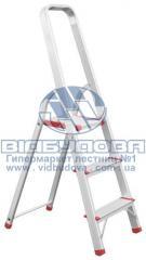 Стремянка алюминиевая бытовая INTERTOOL 3 ступени (LT-1003)