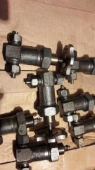 Gate vacuum locking bellows-sealed 14NZh1R d.u.3