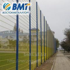 Забор из сетки, секции ограждения повышенной прочности