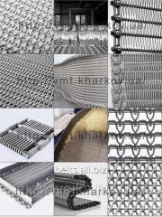 Сетка (лента) транспортерная металлическая