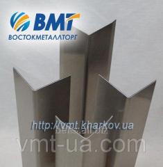 Уголок алюминиевый 40х80х3 анодированный