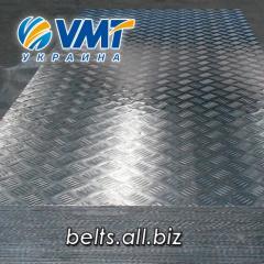 Алюминиевый рифленый лист 2,5 мм, алмаз, дуэт,