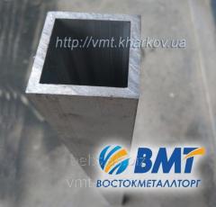 Труба профильная алюминиевая 80х20
