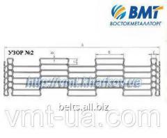 Grid glazirovochny under guides of 1000 mm