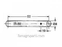 Болт fi8x52mm Welger 0380.08