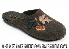"Slippers felt female ""Belsta"""