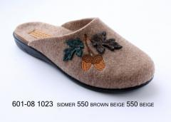 Women's felt slippers for the house of Belsta