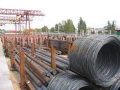 Rod iron of 5 mm, 6 mm in bays and bars of GOST