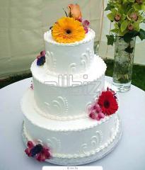 Торты свадебные, заказ тортов в Днепропетровске