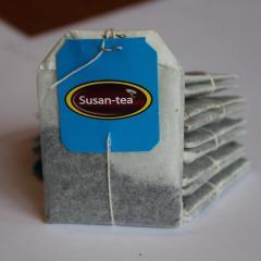 Черный пакетированый Susan-tea 25 по 1.5 грамма