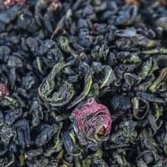 """Зеленый чай Susan-tea """"Клубника и роза"""" 100г"""