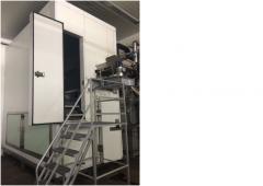 Acting fluidising tunnel freezers (IQF Freezer)