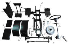 Набор КИТдля переоборудования (Премиум — 1) мотоблока в мототрактор, вес=81кг