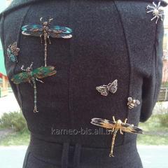 Brooch dragonfly