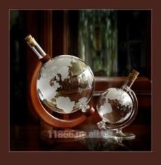 VIP подарок - Глобус стклянный ручной работы, Киев