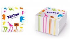ZooZoo 1 napkins layer white 24kh23sm