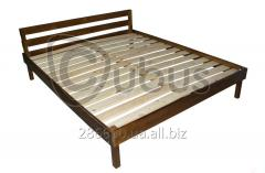 Double bed EKO luxury 160/190 (chestnut)