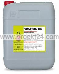 Accelerator of curing of Vimatol BE concrete