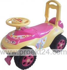 "Машина-каталка ""Автошка"" розовая"