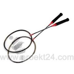 Badminton, 2 rackets, in a cover