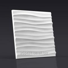 Настенные декоративные 3D/3д панели гипсовые
