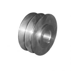 Шкив двухручьевой (внутр.диаметр=25мм, наружный