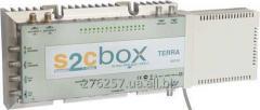 Трансмодулятор  8PSK/QPSK-QAM 16-канальний TERRA S2C16