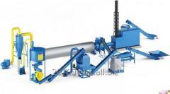Granulation pellet line