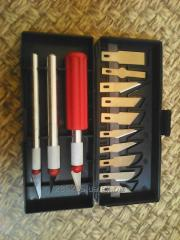 Set of scalpels
