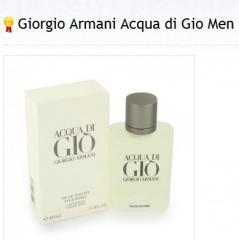 Man's perfumery, Giorgio Armani, Acqua Di Gio