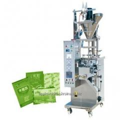 The packing and packing machine for loose products