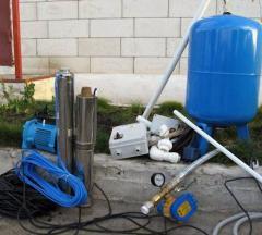 Насосное оборудование для колодцев и скважин