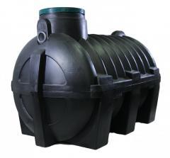 Септик герметичный для канализации, доставка+монтаж