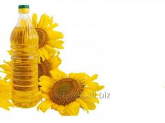 PET sunflower oil and filling